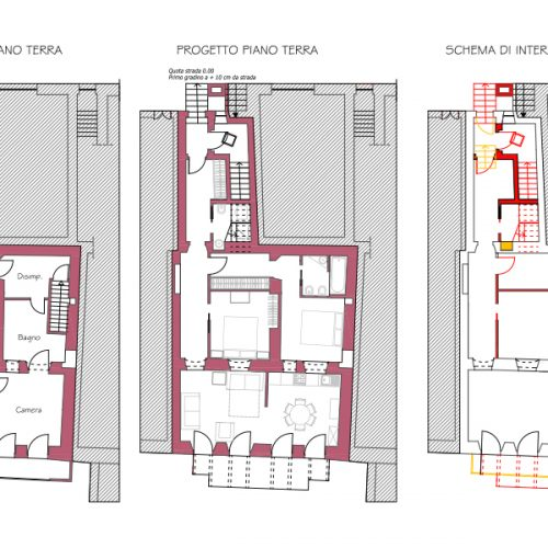 Studio Anna Cane   Il progetto   Porzione di casa storica a Monforte - 1