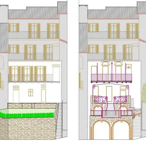 Studio Anna Cane   Il progetto   Porzione di casa storica a Monforte - 3