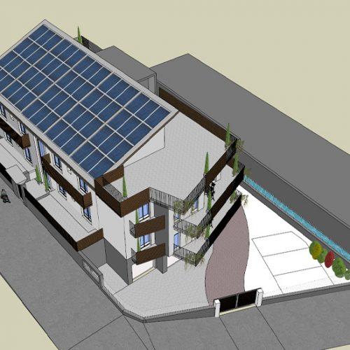 Studio Anna Cane | Il progetto | Stabile in strada Vedetta ad Alba - 1