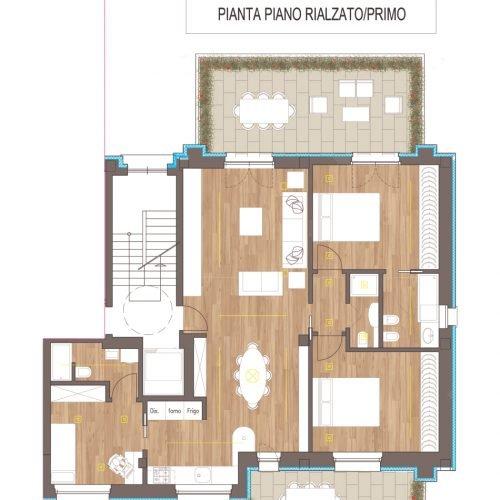 Studio Anna Cane | Il progetto | Stabile in strada Vedetta ad Alba - 15