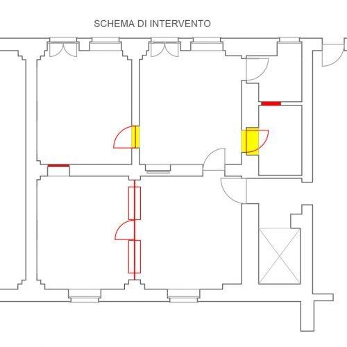 Studio Anna Cane | Il progetto | Ufficio in centro ad Alba - 2