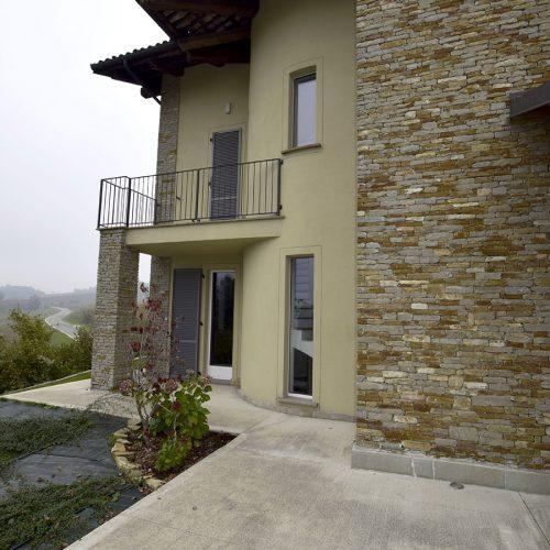 Studio Annamaria Cane | Villa in pietra di Langa in Montemarino | Nuove Costruzioni - Lavori ultimati - 4