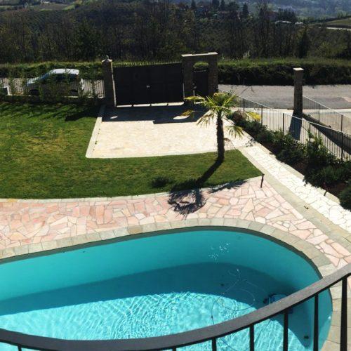 Studio Annamaria Cane | Villa in pietra di Langa in Montemarino | Nuove Costruzioni - Lavori ultimati - 6