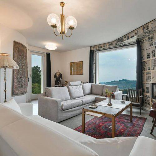 Studio Annamaria Cane | Villa in pietra di Langa in Montemarino | Nuove Costruzioni - Lavori ultimati - 8