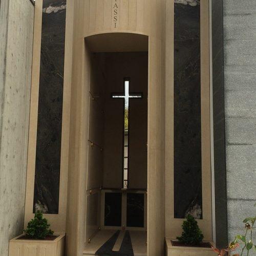 Studio Anna Cane | Lavori ultimati | Monumento funerario a Ricca - 1