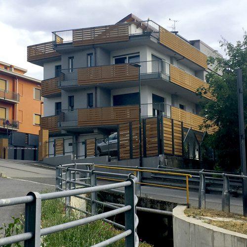 Studio Anna Cane | Lavori ultimati | Stabile in strada Vedetta ad Alba - 1