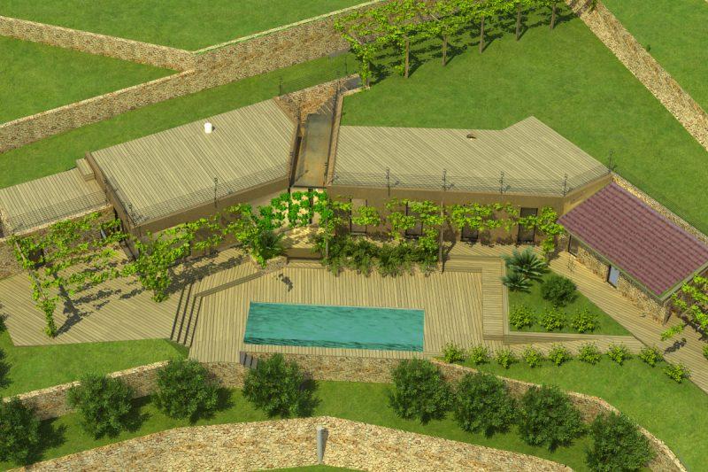 Studio Anna Cane | Villa Semi Ipogea in Noli | Nuove Costruzioni