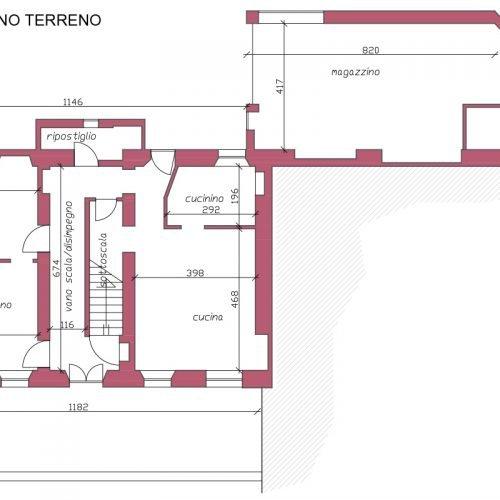 Studio Anna Cane | Prima dei lavori | Casa in Val Gaia a Rodello - 5