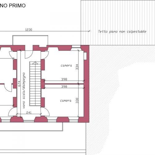 Studio Anna Cane | Prima dei lavori | Casa in Val Gaia a Rodello - 4