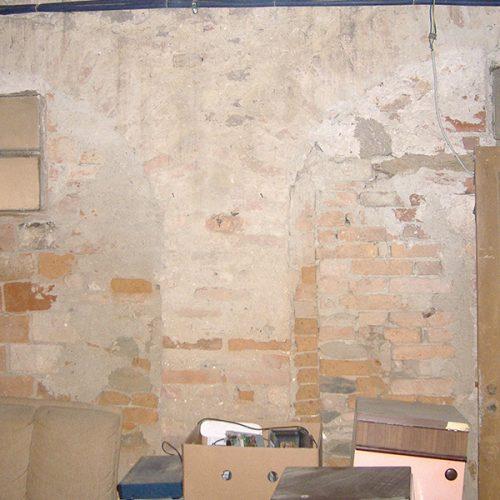 Studio Anna Cane   Prima dei lavori   Porzione di casa storica a Monforte - 9