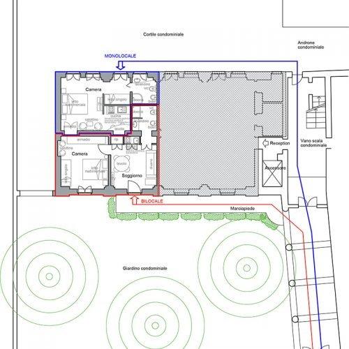 Studio Anna Cane | Il progetto | Appartamento vacanza in centro ad Alba