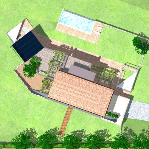 Studio Anna Cane | Il progetto | Casa in zona agricola a Roddino - 1