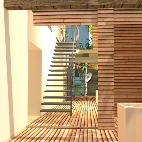 Studio Anna Cane | Il progetto | Casa in zona agricola a Roddino - 11