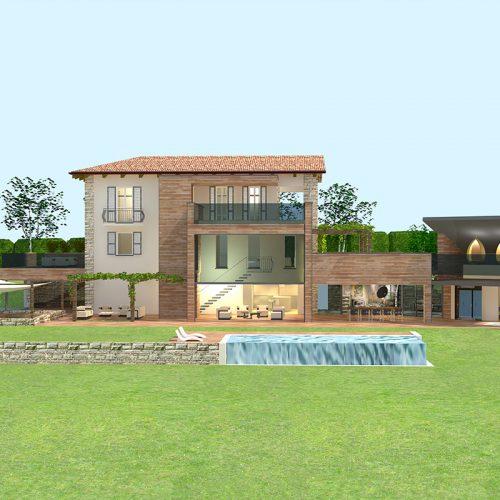 Studio Anna Cane | Il progetto | Casa in zona agricola a Roddino - 2