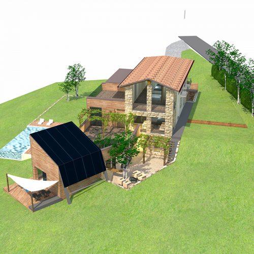 Studio Anna Cane | Il progetto | Casa in zona agricola a Roddino - 3
