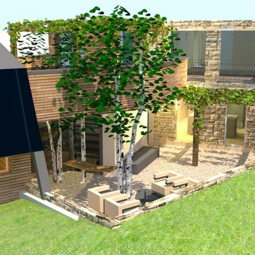 Studio Anna Cane | Il progetto | Casa in zona agricola a Roddino - 4