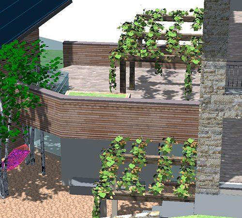 Studio Anna Cane | Il progetto | Casa in zona agricola a Roddino - 5