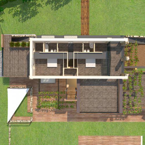 Studio Anna Cane | Il progetto | Casa in zona agricola a Roddino - 7