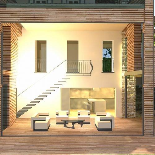 Studio Anna Cane | Il progetto | Casa in zona agricola a Roddino - 8