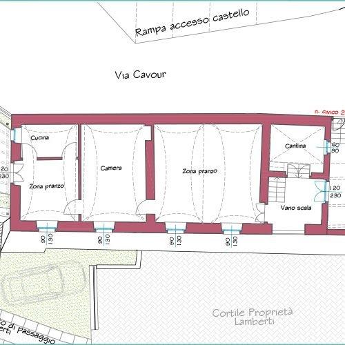 Studio Anna Cane | Il progetto | Palazzotto storico a Pocapaglia - 4