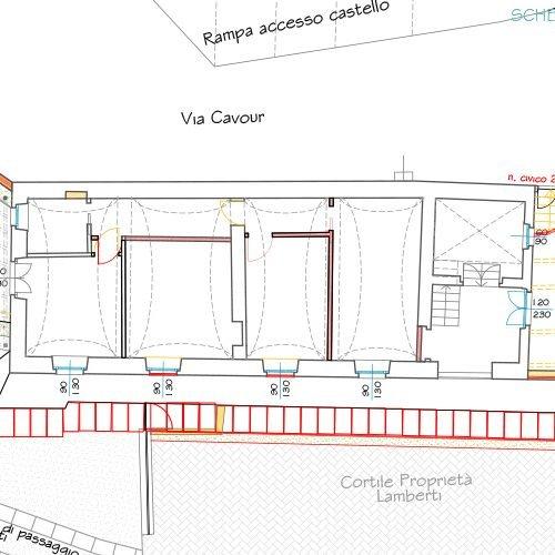 Studio Anna Cane | Il progetto | Palazzotto storico a Pocapaglia - 6