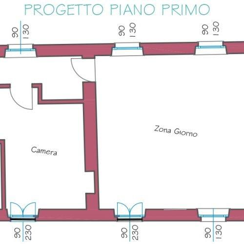 Studio Anna Cane | Il progetto | Palazzotto storico a Pocapaglia - 8