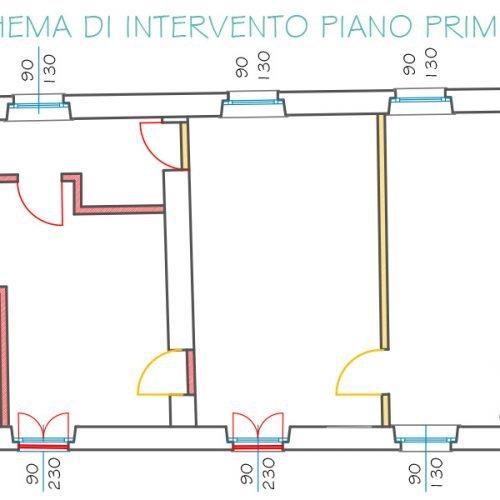 Studio Anna Cane | Il progetto | Palazzotto storico a Pocapaglia - 9