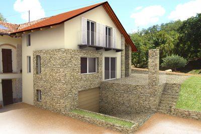 Studio Annamaria Cane | Edificio Rustico in Rodello | Restauro e Ristrutturazione