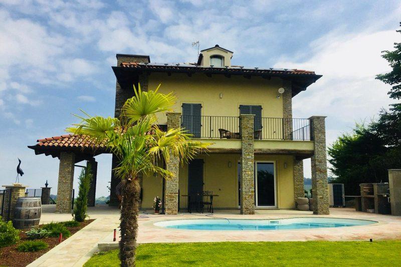 Villa in pietra di Langa situata a Montemarino | Progetto a cura dello Studio Anna Caner